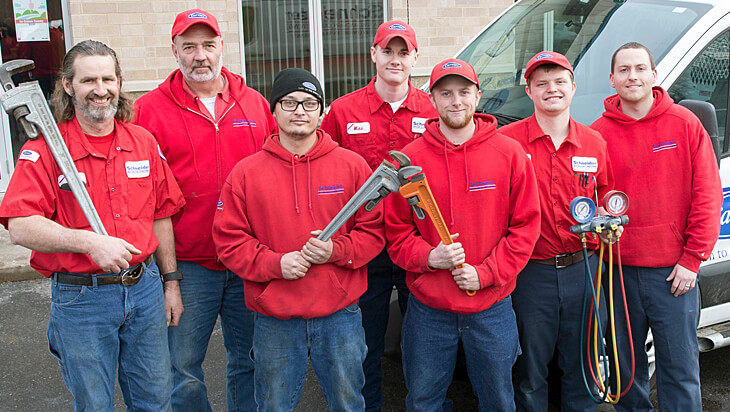 Heating and Air Conditioning Repair Team
